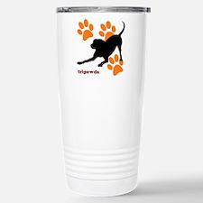 Tripawds Hound Dog Travel Mug