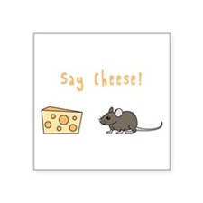 Say Cheese Sticker