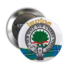 "Irvine / Irwin Clan 2.25"" Button"