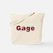 Gage Santa Fur Tote Bag
