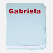 Gabriela Santa Fur baby blanket