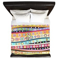 Colorful Pattern King Duvet