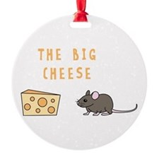 The Big Cheese Ornament