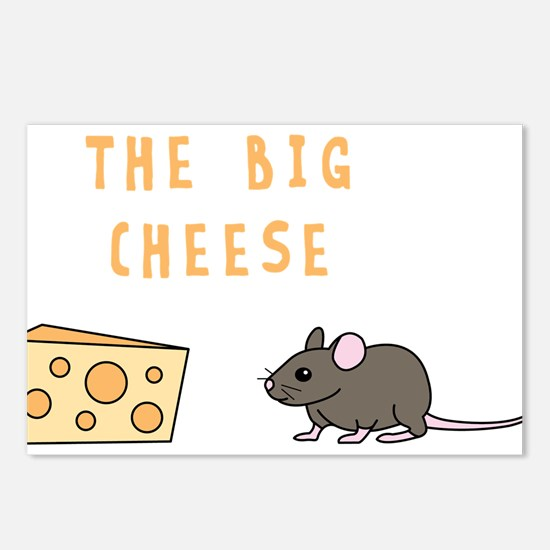 The Big Cheese Postcards (Package of 8)