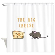 The Big Cheese Shower Curtain