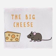 The Big Cheese Throw Blanket