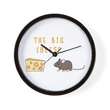 The Big Cheese Wall Clock