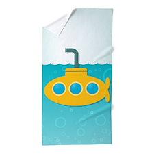 Yellow Submarine Beach Towel