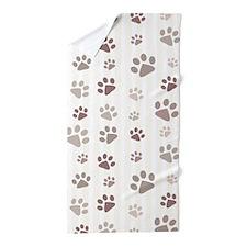 Paw Prints Beach Towel