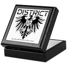 Hunger Games District 12 Keepsake Box