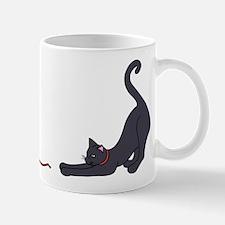 Cat and Yarn Mugs