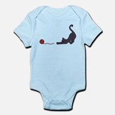Cat and Yarn Body Suit