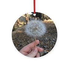 Dandelion Round Ornament
