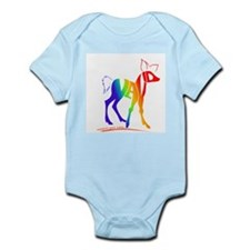 Navid rainbow deer Infant Bodysuit