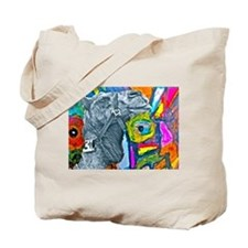 Colorful Camel Tote Bag