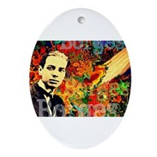 Borges Argentina Ornament (Oval)