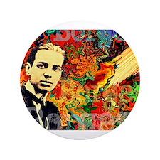 """Borges Argentina 3.5"""" Button"""