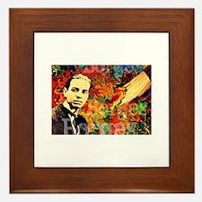 Borges Argentina Framed Tile