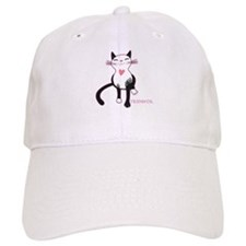 Tripawd Cat Love Baseball Baseball Cap