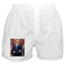 Barack Obama President of the United States Boxer