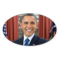 Barack Obama President of the United States Sticke