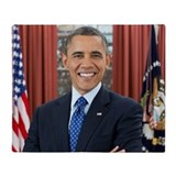 Barack obama Fleece Blankets