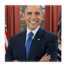 Barack Obama President of the United States Tile C