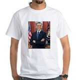 Barack obama Mens Classic White T-Shirts