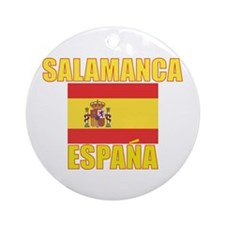 Cute Barcelona spain Ornament (Round)