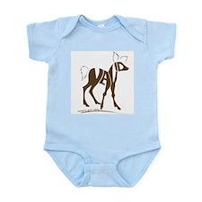Navid brown deer Infant Bodysuit