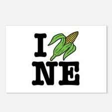 I Love Nebraska (corn) Postcards (Package of 8)