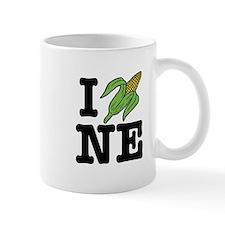 I Love Nebraska (corn) Mug