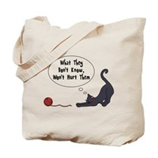 What They Dont Know Tote Bag
