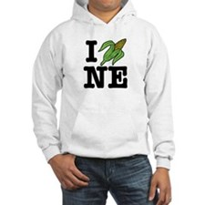 I Love Nebraska (corn) Jumper Hoody