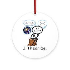 Astrophysicist Ornament (Round)