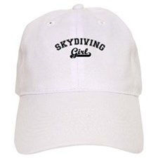 Skydiving girl Baseball Cap