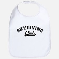 Skydiving girl Bib
