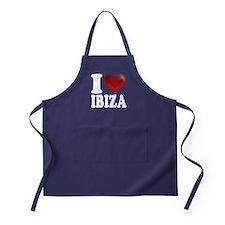 I Heart Ibiza Apron (dark)