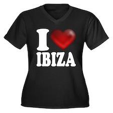 I Heart Ibiza Plus Size T-Shirt