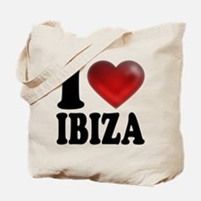 I Heart Ibiza Tote Bag