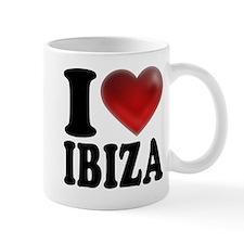 I Heart Ibiza Mugs