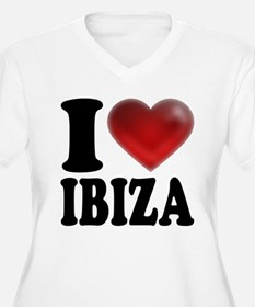 I Heart Ibiza Plus Size T-Shirt