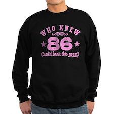 Funny 86th Birthday Sweatshirt