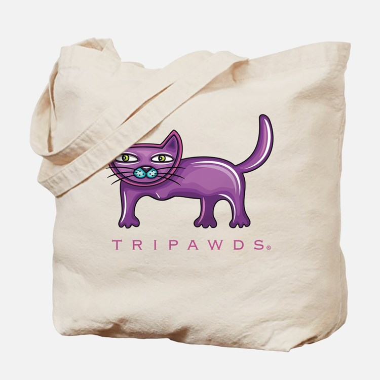 Tripawds Three Legged Cat Tote Bag