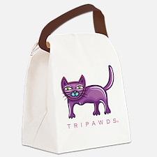 Tripawds Three Legged Cat Canvas Lunch Bag