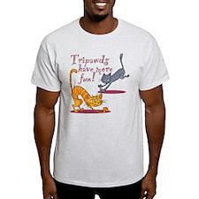 Tripawd Cats Have Fun T-Shirt