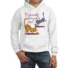 Tripawd Cats Have Fun Hoodie