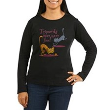 Tripawd Cats Have Fun Long Sleeve T-Shirt