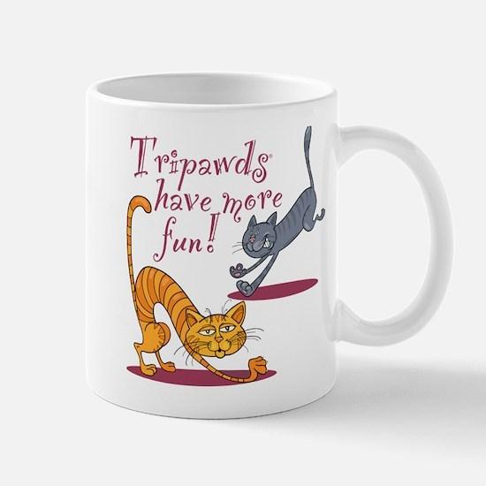 Tripawd Cats Have Fun Mugs
