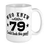 79 years old Large Mugs (15 oz)